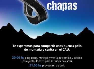 3ra EDICIÓN DE CINE A LAS CHAPAS
