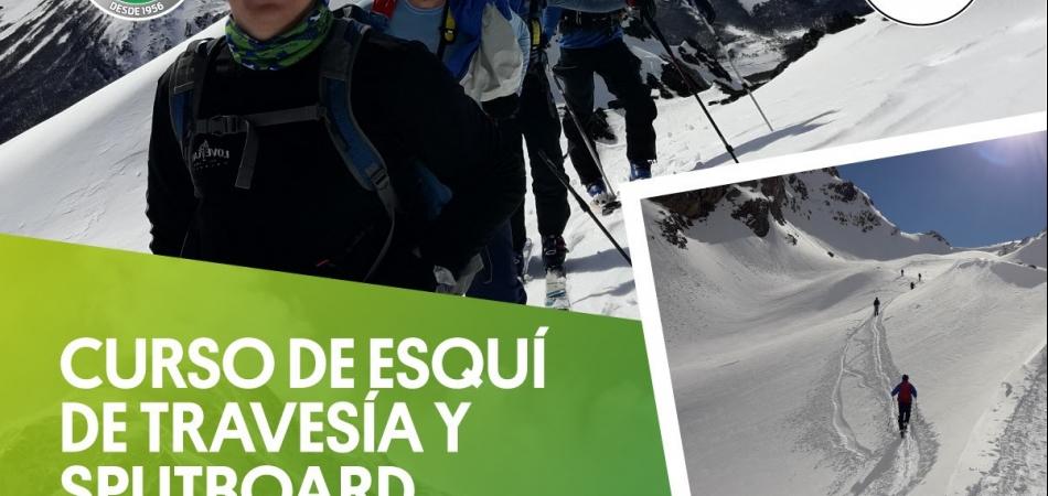 CURSO DE ESQUÍ DE TRAVESÍA Y SPLITBOARD